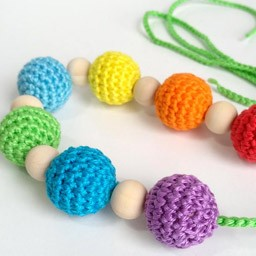 Collares de Lactancia de Crochet